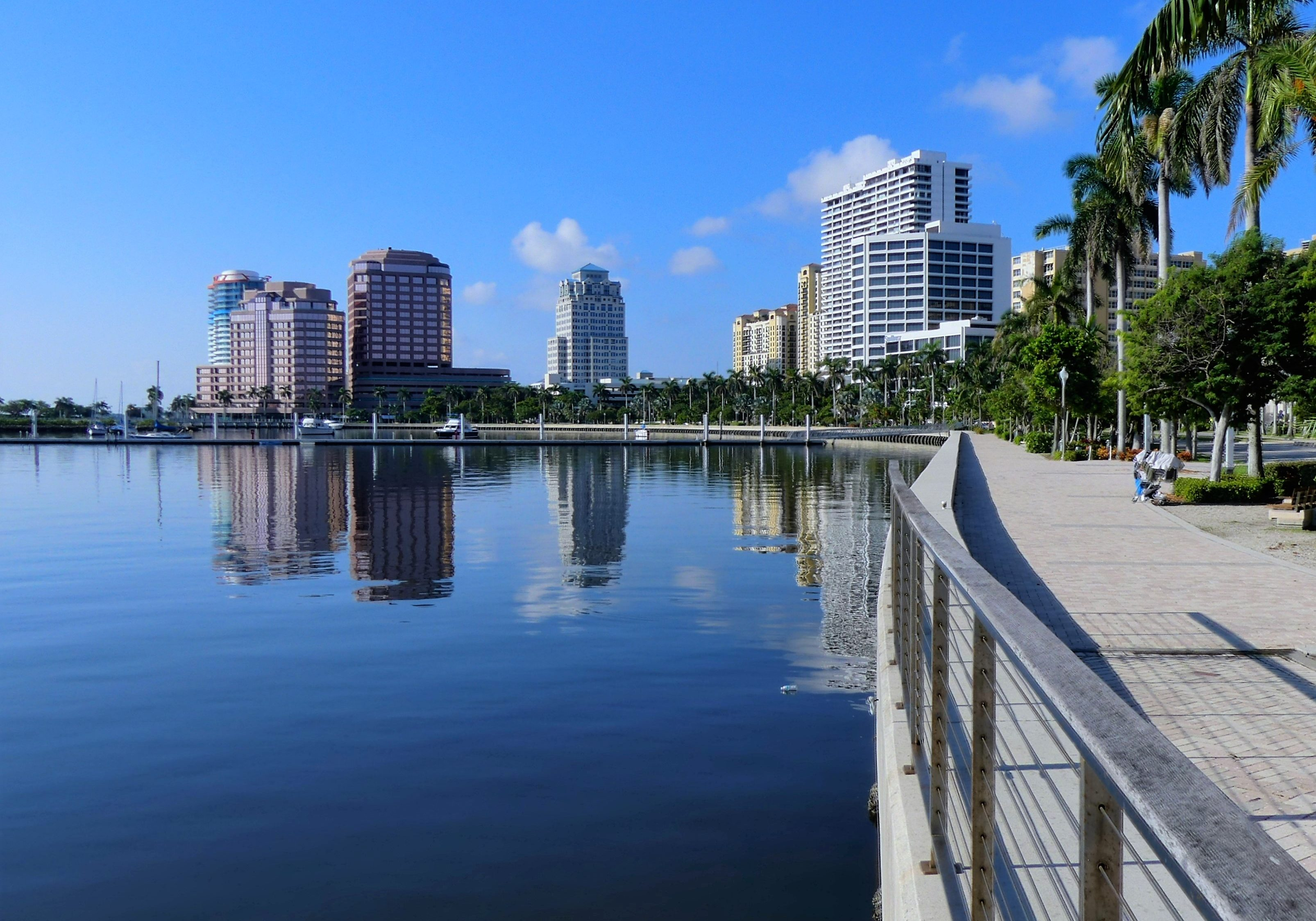 Image of West Palm Beach waterfront.